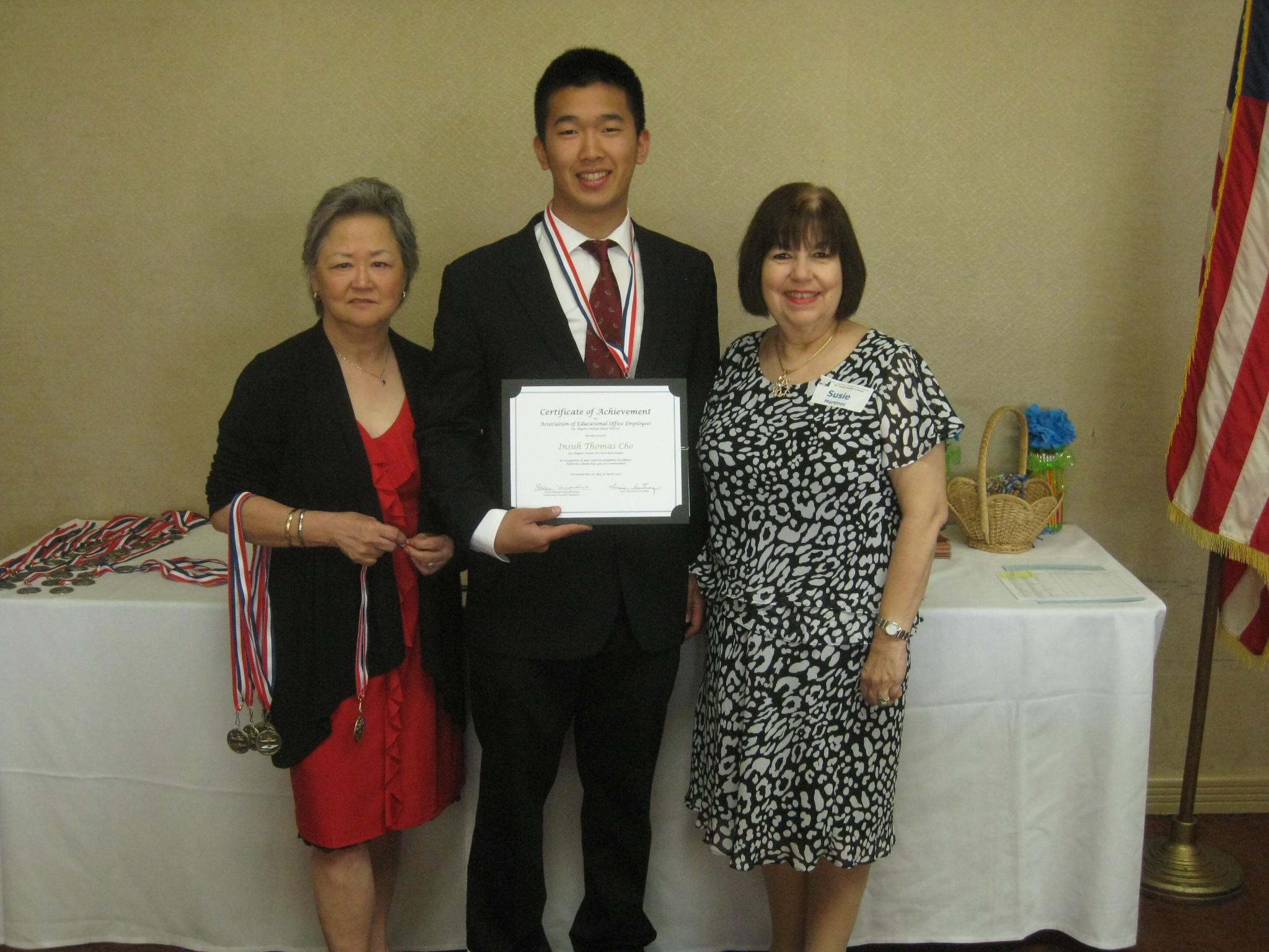 Aeoe Lausd 2013 Scholarship Luncheon